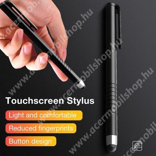 ACER Iconia Tab 10 A3-A40 Érintőképernyő ceruza - kapacitív kijelzőhöz, 115 x 11mm - FEKETE