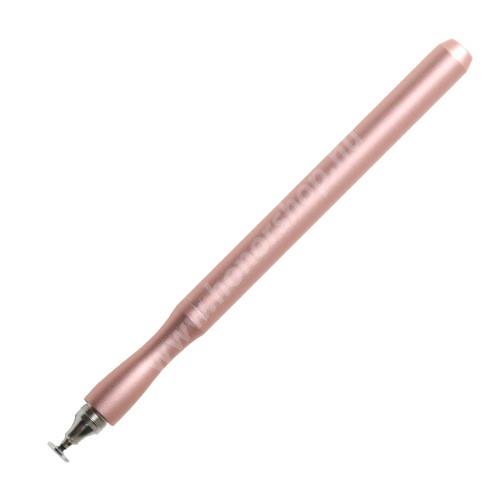 Érintőképernyő ceruza - kapacitív kijelzőhöz, KÉZÍRÁSRA, RAJZOLÁSRA IS ALKALMAS - ROSE GOLD