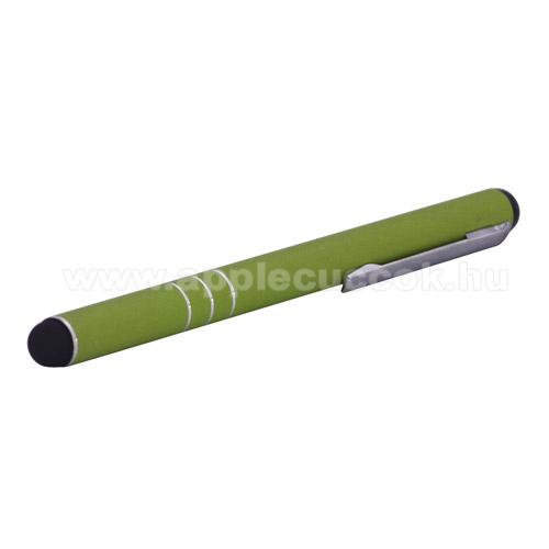 APPLE IPhone 5SÉrintőképernyő ceruza - kapacitív kijelzőhöz - ZÖLD