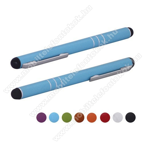Érintőképernyő ceruza - kapacitív kijelzőhöz - VILGOSKÉK