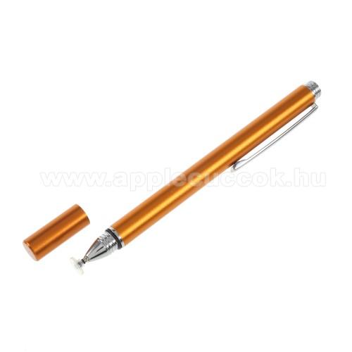 APPLE iPad mini 2Érintőképernyő ceruza - kapacitív kijelzőhöz, KÉZÍRÁSRA, RAJZOLÁSRA IS ALKALMAS - ARANY