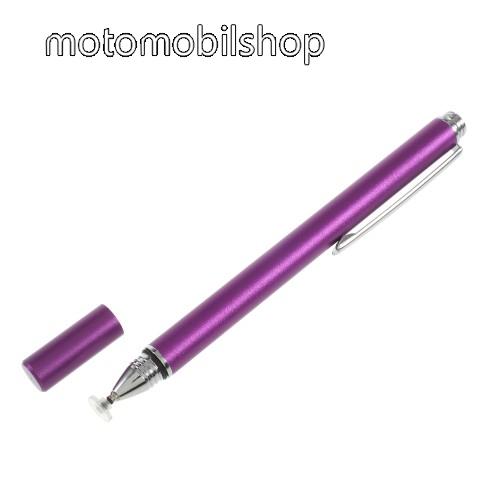 MOTOROLA Moto G8 Plus Érintőképernyő ceruza - kapacitív kijelzőhöz, KÉZÍRÁSRA, RAJZOLÁSRA IS ALKALMAS - LILA