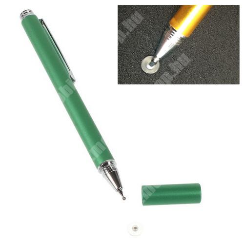 Érintőképernyő ceruza - kapacitív kijelzőhöz, VÉKONY HEGYŰ! - ZÖLD