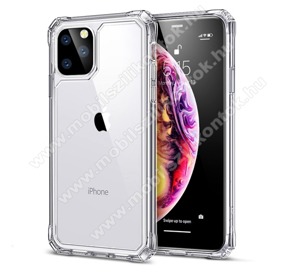ESR AIR ARMOR műanyag védő tok / átlátszó hátlap - szilikon szegély, erősített sarkok - ÁTLÁTSZÓ - Apple iPhone 11 Pro - GYÁRI