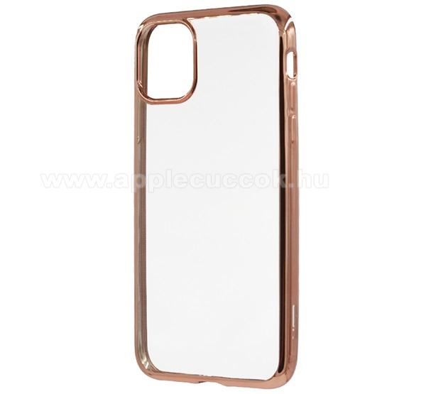 ESR ESSENTIAL CROWN szilikon védő tok / hátlap - ROSE GOLD - Apple iPhone 11 Pro - GYÁRI