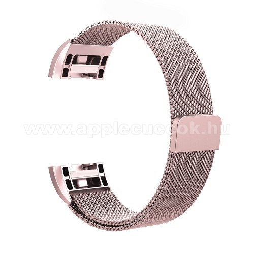 F�m okos�ra sz�j - 200mm hossz�, 18mm sz�les - ROSE GOLD - Fitbit Charge 2