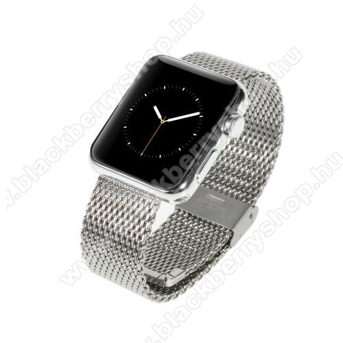 Fém okosóra szíj - EZÜST - Apple Watch 38mm