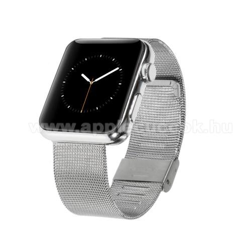 APPLE Watch Series 3 42mmFém okosóra szíj - EZÜST - Apple Watch Series 3 / 2 / 1 42mm