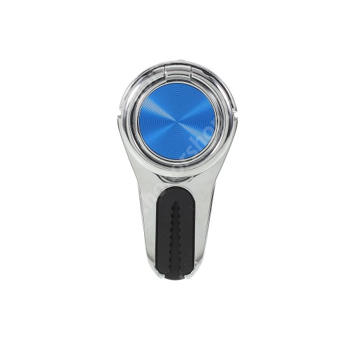 HUAWEI Honor V40 5G Fém ujjtámasz, gyűrű tartó - Biztos fogás készülékéhez, szellőző rácsra tehető autós tartó funkció - EZÜST
