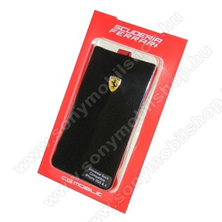 Ferrari F1 tok zokni (karabíner) FEKETE