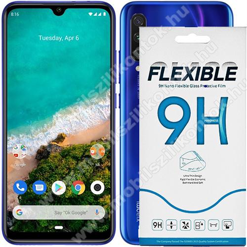 Flexible 9H Nano Glass rugalmas edzett üveg képernyővédő fólia, 0,15 mm vékony, a képernyő sík részét védi - Xiaomi Mi CC9e / Xiaomi Mi A3