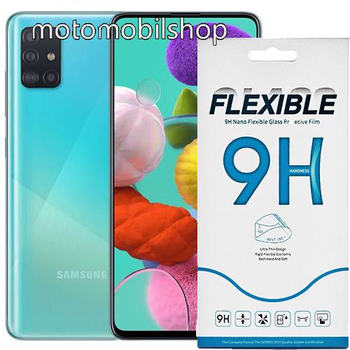 Flexible 9H Nano Glass rugalmas edzett üveg képernyővédő fólia, 0,15 mm vékony, a képernyő sík részét védi - SAMSUNG Galaxy Note10 Lite (SM-N770F) / SAMSUNG Galaxy A71 (SM-A715F) / SAMSUNG Galaxy A71 5G (SM-A716F)