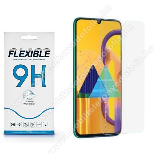 Flexible 9H Nano Glass rugalmas edzett üveg képernyővédő fólia, 0,15 mm vékony, a képernyő sík részét védi - SAMSUNG Galaxy A31 (SM-A315F)