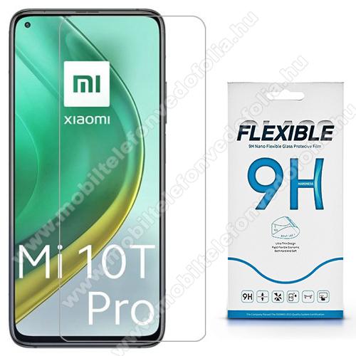 Flexible 9H Nano Glass rugalmas edzett üveg képernyővédő fólia, 0,15 mm vékony, a képernyő sík részét védi! - Xiaomi Mi 10T 5G / Mi 10T Pro 5G / Redmi K30S