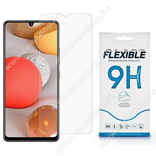 Flexible 9H Nano Glass rugalmas edzett üveg képernyővédő fólia, 0,15 mm vékony, a képernyő sík részét védi - SAMSUNG Galaxy A42 5G (SM-A425F)
