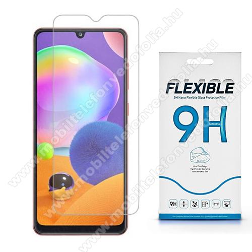 Flexible 9H Nano Glass rugalmas edzett üveg képernyővédő fólia, 0,15 mm vékony, a képernyő sík részét védi - SAMSUNG Galaxy A32 5G (SM-A326B) / SAMSUNG Galaxy A12 (SM-A125F)