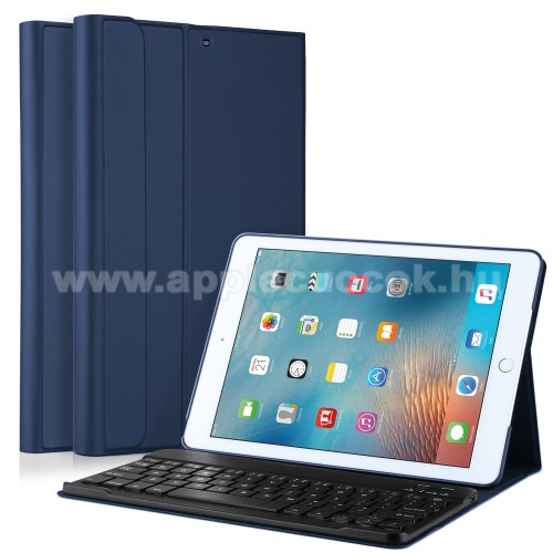 Flip / mappa b?rtok - bluetooth billenty?zet, ANGOL KIOSZT�S! - APPLE iPad 9.7 (2017) (5. GENER�CI�S) / APPLE iPad 9.7 (2018) - S�T�TK�K