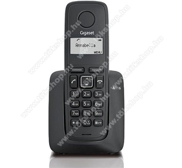 Gigaset A116 Dect, fekete
