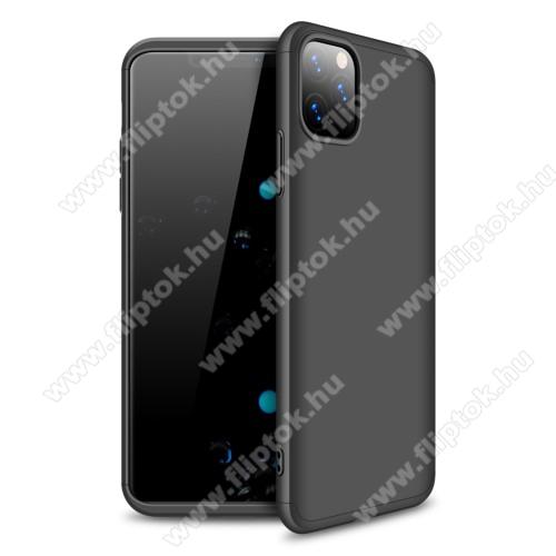 GKK műanyag védő tok / hátlap - FEKETE - 360 fokos védelem! - APPLE iPhone 11 Pro Max