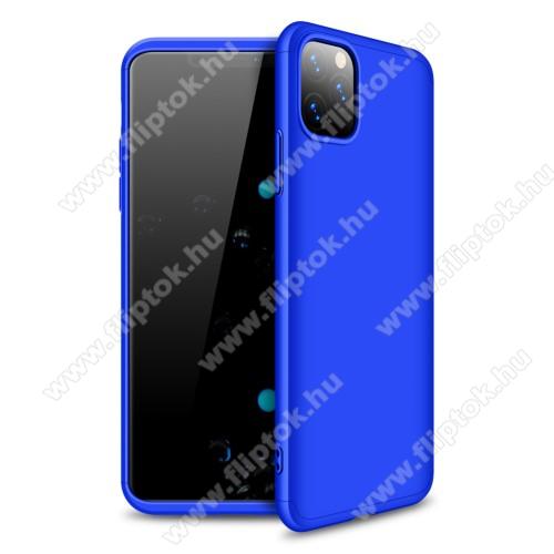 GKK műanyag védő tok / hátlap - KÉK - 360 fokos védelem! - APPLE iPhone 11 Pro