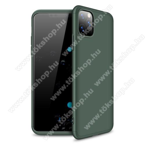 GKK műanyag védő tok / hátlap - ZÖLD - 360 fokos védelem! - APPLE iPhone 11 Pro Max