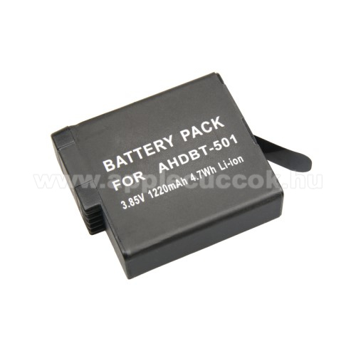 GoPro Hero5 akkumul�tor - 1220mAh 3.85V Li-ION - AT696