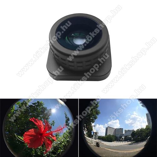 GoPro Hero 9-hez halszemoptika - 180° fisheye - FEKETE
