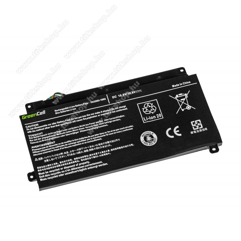 GREEN CELL akku 10.8V (11.1V) / 3400mAh Li-Polymer, Toshiba Satellite Radius 15 P50W P55W, Toshiba ChromeBook 2 CB30-B - TS57 - PA5208U-1BRS