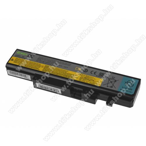 GREEN CELL akku 10.8V (11.1V) / 5200mAh Li-Ion, Lenovo IdeaPad B560 Y460 Y560 V560 Y560p Y560a - LE20PRO - L09L6D16
