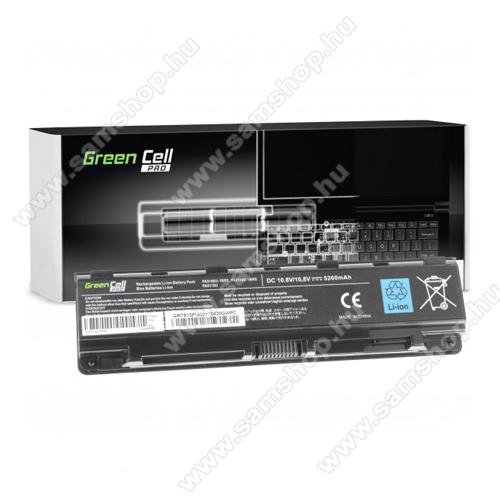 GREEN CELL akku 10.8V (11.1V) / 5200mAh Li-Ion, Toshiba Satellite C50 C50D C55 C55D C70 C75 L70 P70 P75 S70 S75 - TS13PROV2 - PA5109U-1BRS