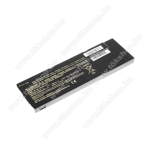 GREEN CELL akku 11.1V (10.8V) / 4200mAh Li-Ion, Sony Vaio SVS13 PCG-41214M PCG-41215L - SY13 - VGP-BPS24