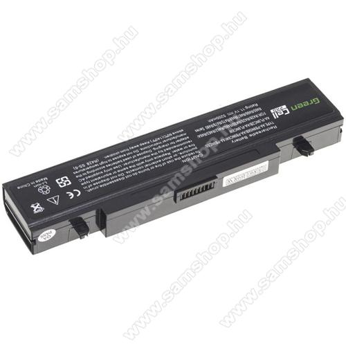 GREEN CELL akku 11.1V (10.8V) / 5200mAh Li-Ion, Samsung RV511 R519 R522 R530 R540 R580 R620 R719 R780 - SA01PRO - AA-PB9NC6B AA-PB9NS6B