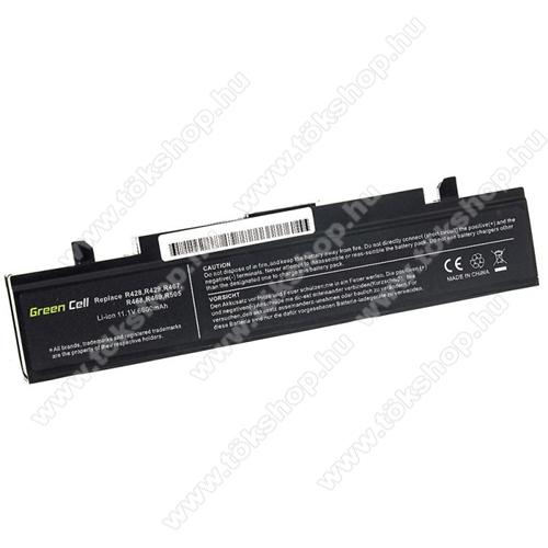 GREEN CELL akku 11.1V (10.8V) / 6600mAh Li-Ion, Samsung RV511 R519 R522 R530 R540 R580 R620 R719 R780 - SA02 - AA-PB9NC6B AA-PB9NS6B