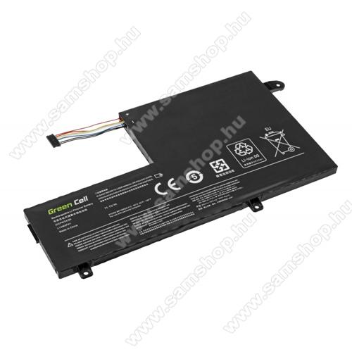 GREEN CELL akku 11.1V / 3500 mAh Li-Polymer, Lenovo Yoga 500-14IBD 500-14ISK 500-15IBD 500-15ISK - LE124 - L14M3P21