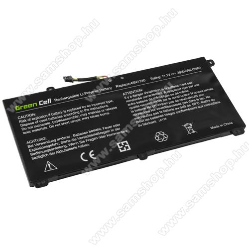 GREEN CELL akku 11.1V / 3900mAh Li-Polymer Lenovo ThinkPad T550 T560 W550s P50s P50S - LE138