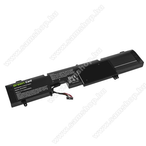 GREEN CELL akku 11.1V / 8100 mAh Li-Polymer, Lenovo IdeaPad Y900-17ISK Y910-17ISK - LE140 - L14M6P21