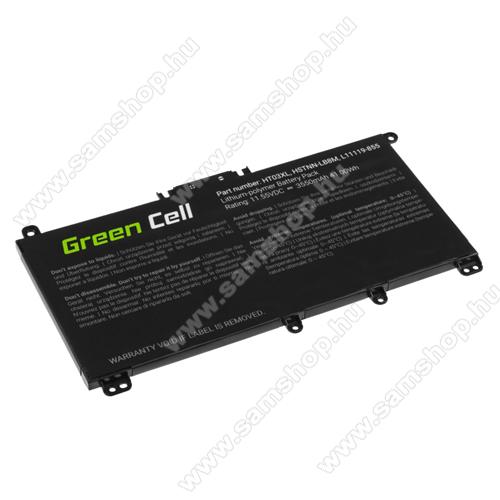 GREEN CELL akku 11.55V / 3550mAh Li-Polymer, HP 240 G7 245 G7 250 G7 255 G7, HP 14 15 17, HP Pavilion 14 15 - HP163 - HT03XL