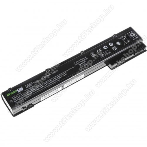 GREEN CELL akku 14.8V (14.4V) / 5200mAh Li-Ion, HP EliteBook 8560w 8570w 8760w 8770w - HP56PRO - VH08XL