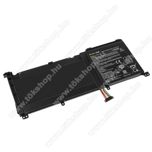 GREEN CELL akku 15.2V / 3950 Li-Polymer, Asus G501J G501JW G501V G501VW Asus ZenBook Pro UX501 UX501J UX501JW UX501V UX501VW - AS130 - C41N1416