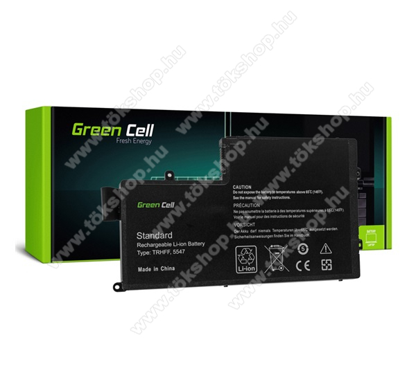 GREEN CELL akku 3400 mAh LI-ION, Dell Inspiron 15 5542 5543 5545 5547 5548 - DE83 - TRHFF