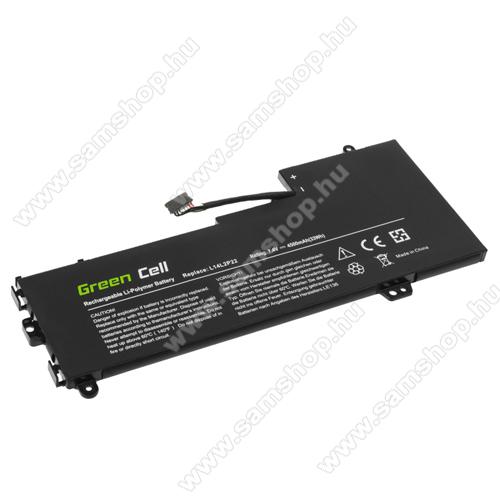 GREEN CELL akku 7.4V / 4500mAh Li-Polymer, Lenovo E31-70 E31-80 U31-70 IdeaPad 500s-13ISK 510s-13IKB 510s - LE136 - L14L2P22 L14M2P24 L14S2P22