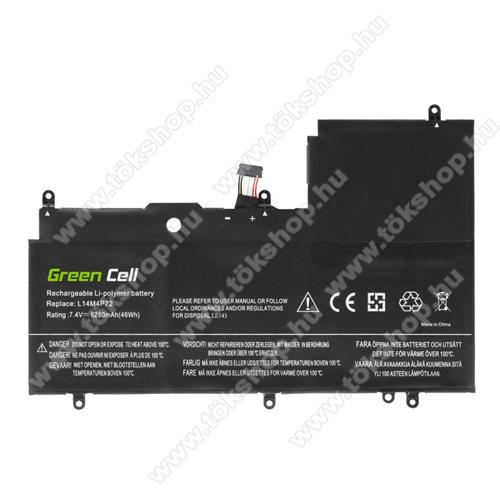 GREEN CELL akku 7.4V / 6050mAh Li-Polymer, Lenovo Yoga 3-1470 700-14ISK - LE143 - L14M4P72 L14S4P72