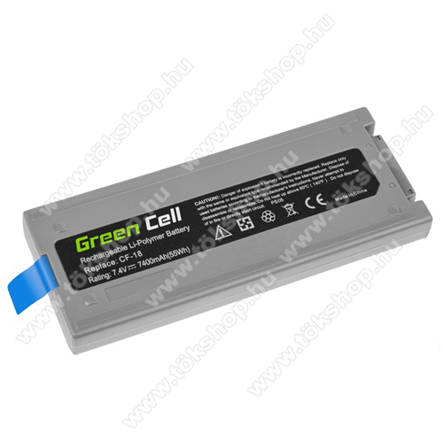 GREEN CELL akku 7.4V / 7400 mAh Li-Polymer, Panasonic Toughbook CF-18 - PS06 - CF-VZSU30B