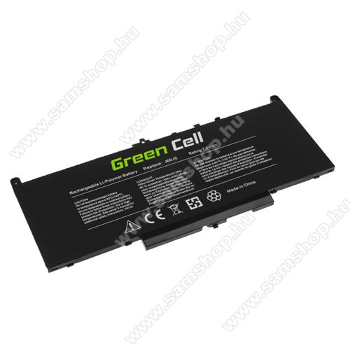 GREEN CELL akku 7.6 V / 5800mAh Li-Polymer, Dell Latitude E7270 E7470 - DE135 - J60J5