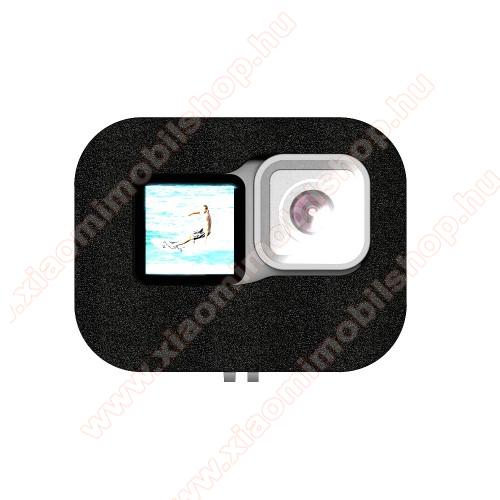 Habszivacs védőtok GoPro Hero 9-hez - csökkenteni a szélzajt, javítja a hangfelvétel teljesítményét szeles környezetben - FEKETE