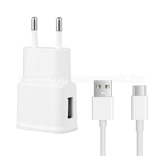 H�l�zati t�lt? - 5V/2100mAh, USB aljzat, Type-C t�ltõ, adat�tviteli k�bellel - FEH�R