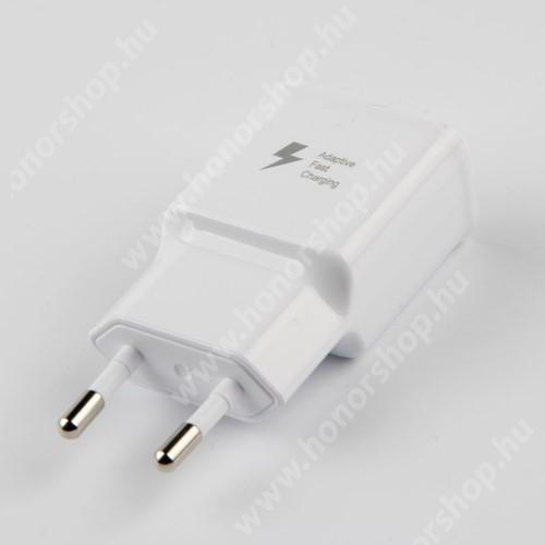 HUAWEI MediaPad T1 Pro 8  Hálózati töltő - 1x USB aljzat, gyorstöltés támogatás, 9V/1.67A; 5V/2A - FEHÉR