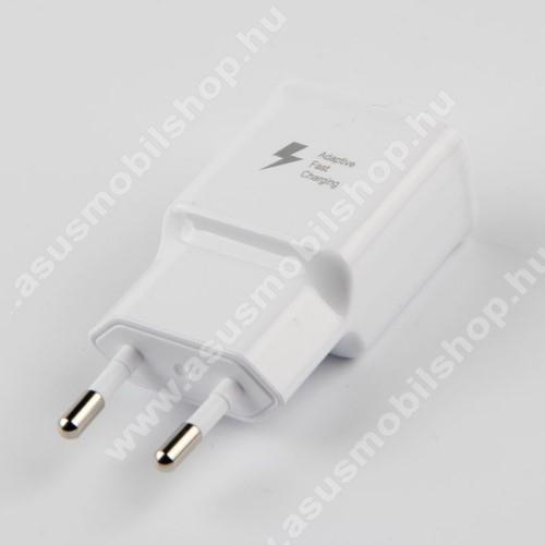 ASUS Fonepad 7 (2014) FE170CGHálózati töltő - 1x USB aljzat, gyorstöltés támogatás, 9V/1.67A; 5V/2A - FEHÉR