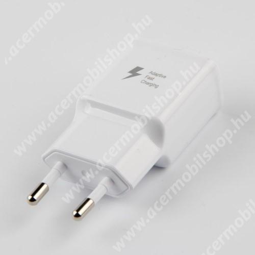 ACER Iconia Tab A3-A20 Hálózati töltő - 1x USB aljzat, gyorstöltés támogatás, 9V/1.67A; 5V/2A - FEHÉR