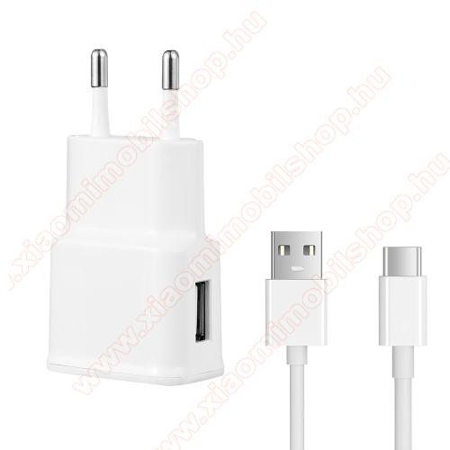 Xiaomi Mi True Wireless Earphones LiteHálózati töltő - 5V/2100mAh, USB aljzat, Type-C töltõ, adatátviteli kábellel - FEHÉR